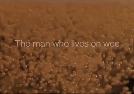 THE MAN WHO LIVES ON WEE